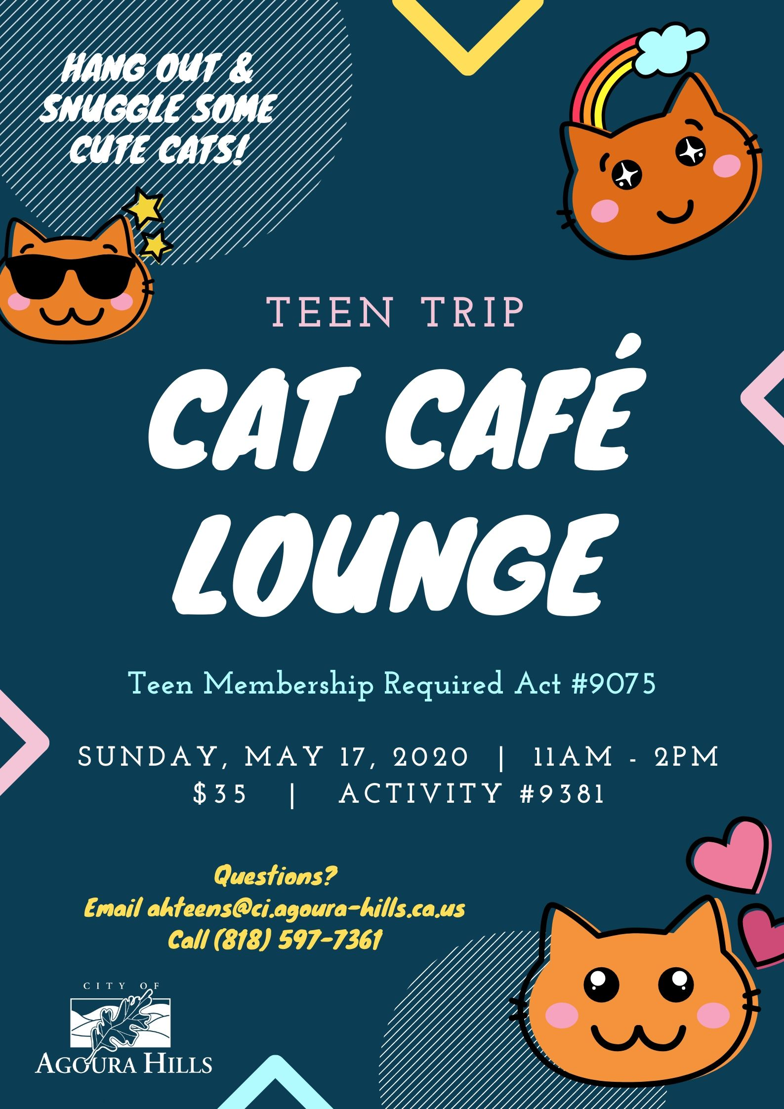 Cat Cafe Teen Trip